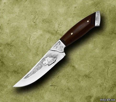 Товар: Нож нескладной охотничий Парусник в магазине Podarkus.